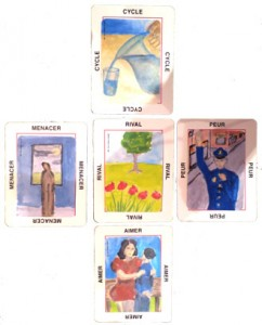 Mini jeu cartes associatives